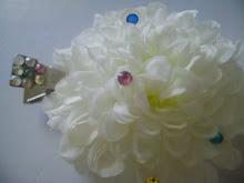 Hair Flower that Shines