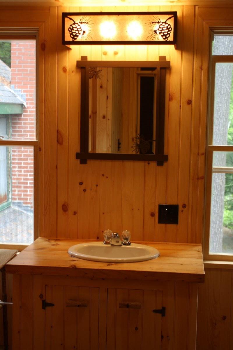 Go Rustic Rustic Bathroom Lighting