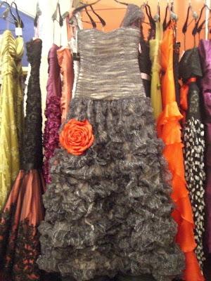 vestido fiesta encargo Josechu Santana