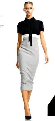 vestidos de la colección Victoria Beckham