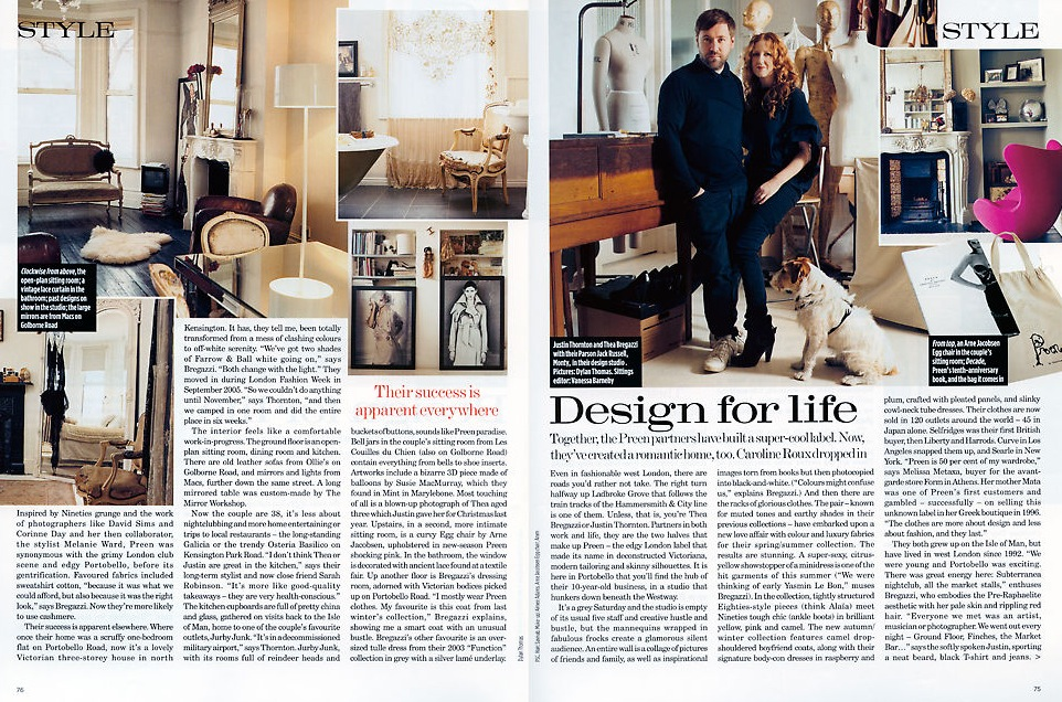 Thornton & Bregazzi for British Vogue