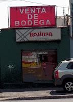 VENTA DE BODEGA TAPICES Y TELAS TEXTINSA
