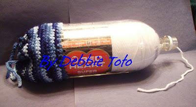 Debs Crochet: Working Yarn Holder
