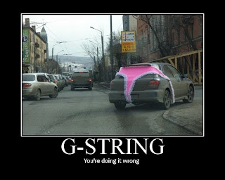 Motivational Posters G String