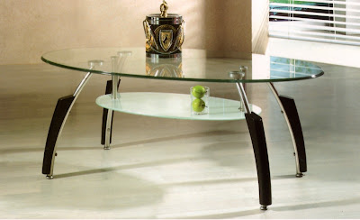 Glass Tables On Coffee Tables Oval Shape Clear Glass Finish Top Coffee Table  With