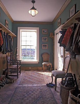 country mud room