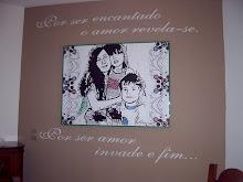 Meus filhos, Djavan e minha parede...