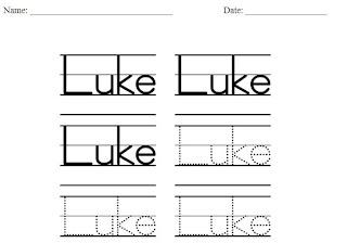 Homeschool Parent: Handwriting Practice Worksheet