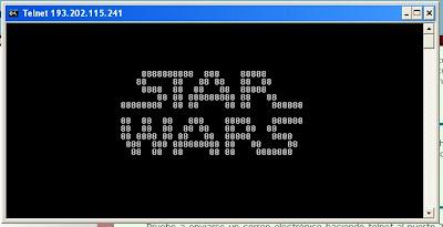 La Guerra de las Galasias en ASCII