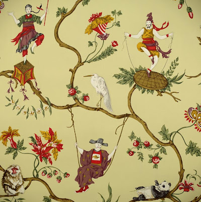 Chinoiserie Chic: Top Ten Chinoiserie Wallpapers #1