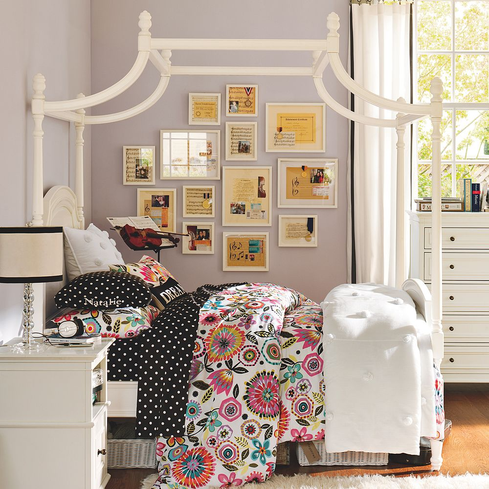 Pottery Barn Girls Bedrooms: Chinoiserie Chic: Pagoda Bed