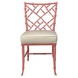 Chinoiserie Chic The Pink Chinese Chippendale Chair