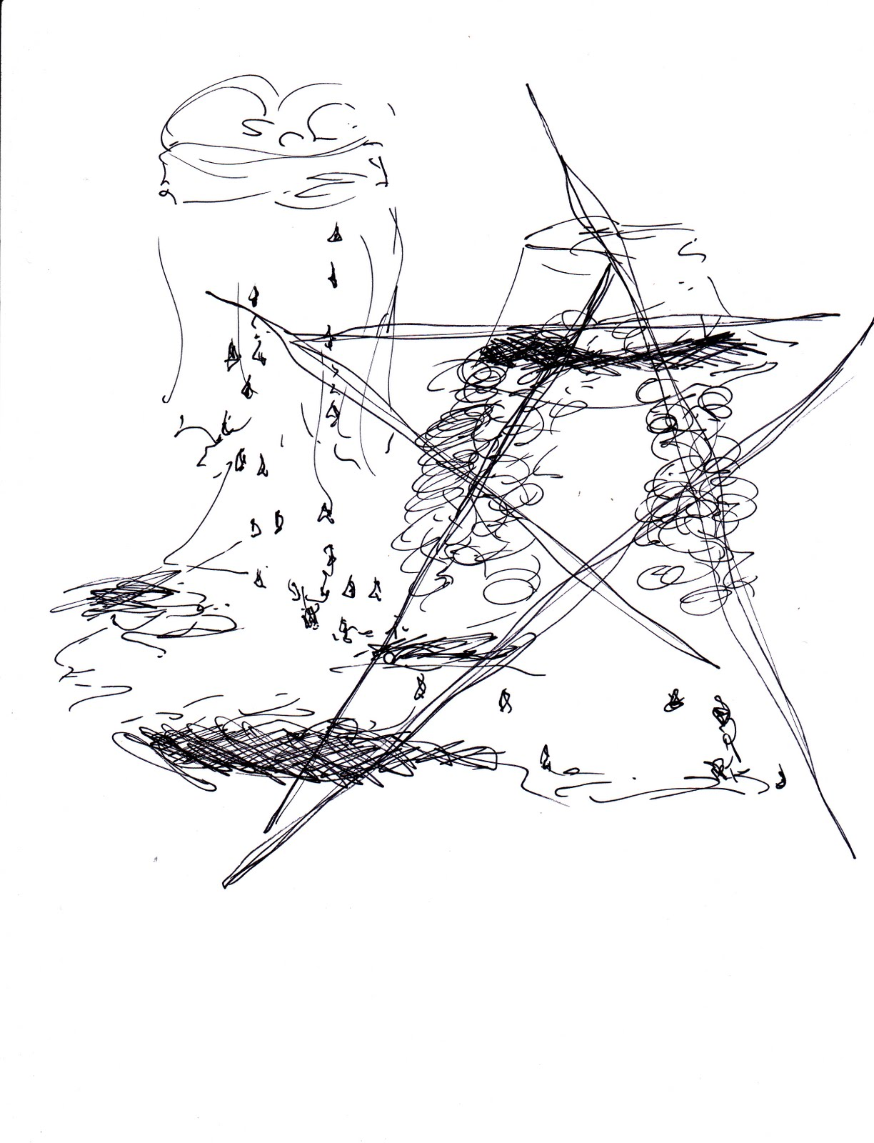 ...or sew you think: drawings about patti smith and her book