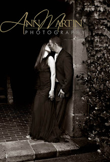 romantic engagement portrait of Plano East and TCU grad with Airforce Academy graduate