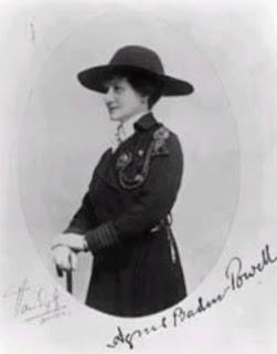 Mrs Anges Baden Powell Fundadora De Las Guias Scouts