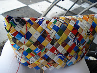candy wrapper purse instructions