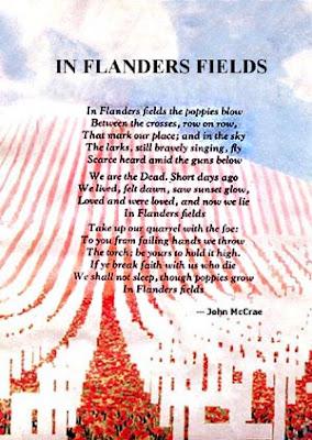 Flanders Fields Poem