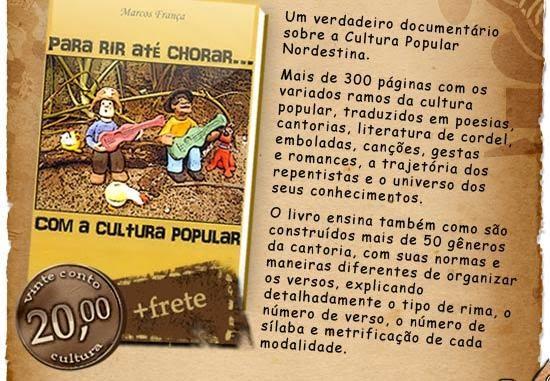 Blog Dos CordÉis: Cantorias E Cordeis: Para Rir Até Chorar... Com A Cultura