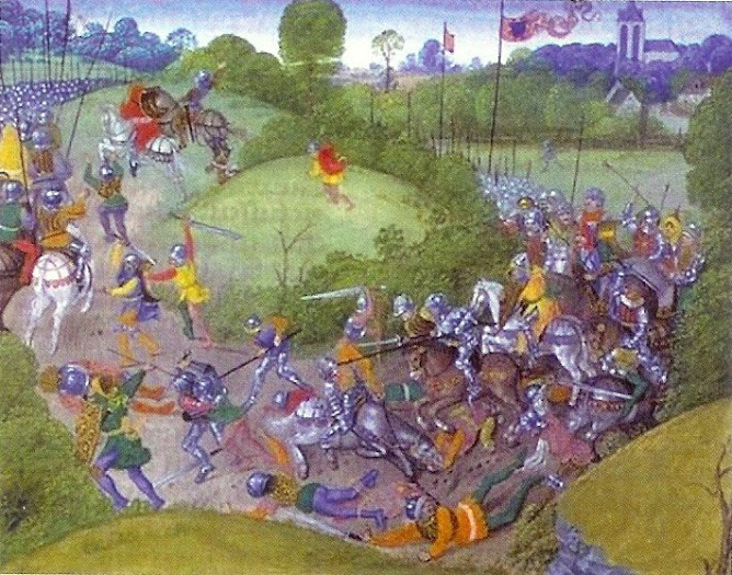 The Battle of Aljubarrota