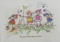 The Best Of Betty Silvars Golf Artistry Is Exhibited In Gals Notecards And Note Pads Collection At Loris Shoppe Whether You Are Sending A