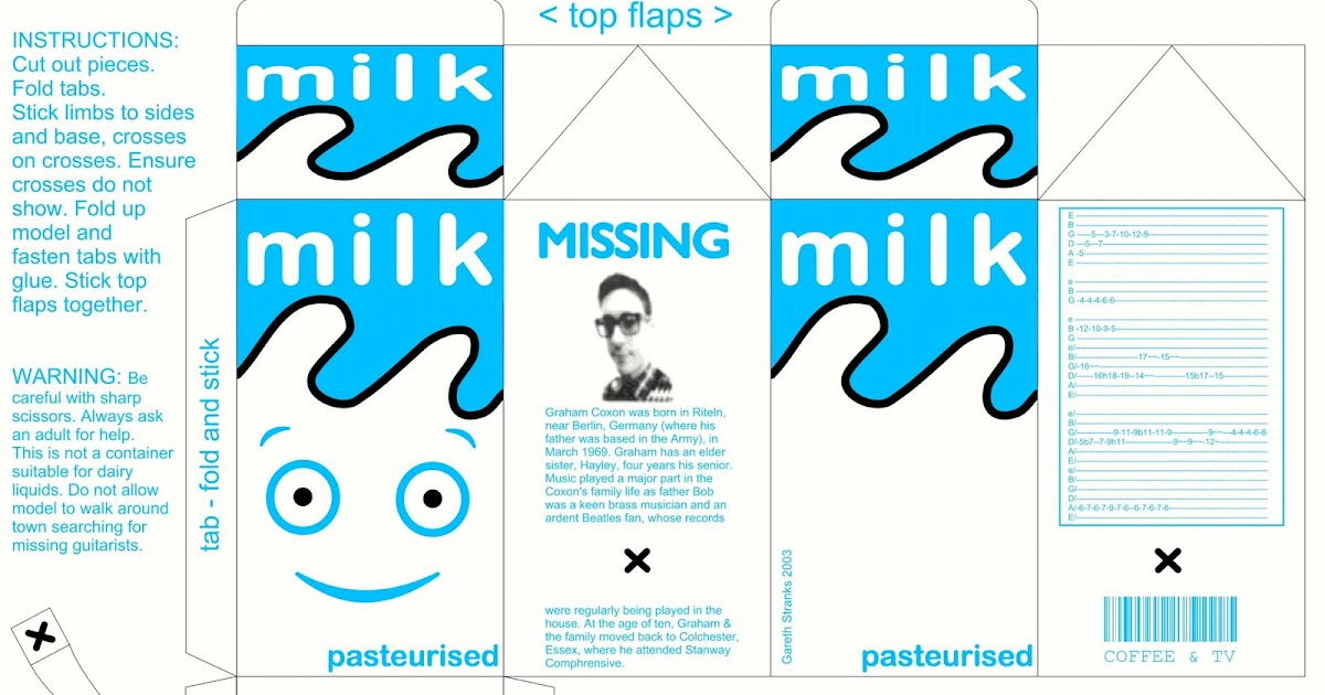 Forget What Youve Heard Milky The Milk Carton