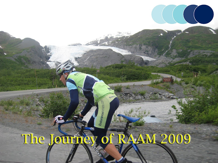 The trials and tribulations encountered preparing for and racing RAAM 2009