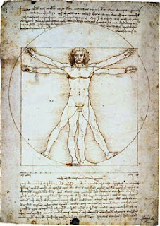 image of a man by Leonardo