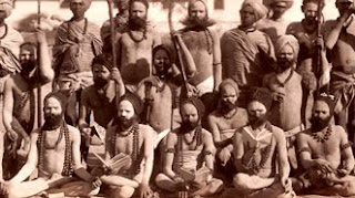A group of Indian Ascetics