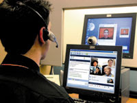 Videoconferencing finally taking off