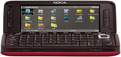 Nokia E90 Communicator - Open