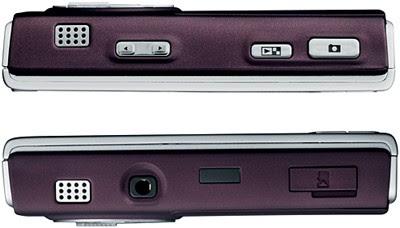 Nokia N95 smart phone - Sides