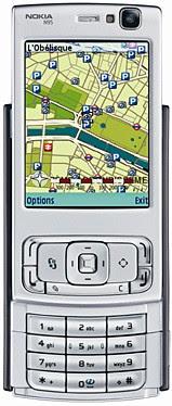 Nokia N95 smart phone - Keypad