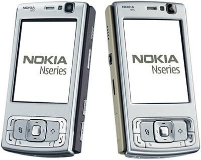 Nokia N95 smart phone - Colors