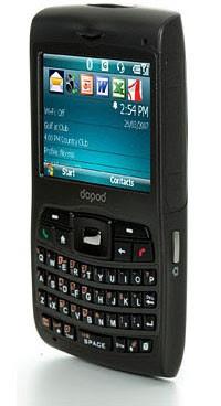 Dopod C730 Quadband 3G Phone - Left Side