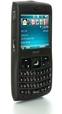 Dopod C730 Quadband 3G Phone - Right Side
