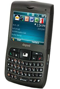 Dopod C730 Quadband 3G Phone - Review
