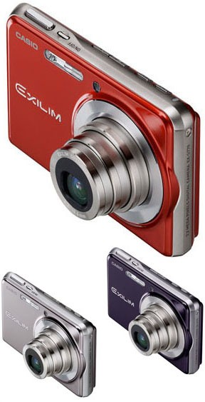 Casio Exilim EX-S770 Digital Camera - Front (Optical Zoom)