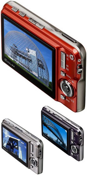 Casio Exilim EX-S770 Digital Camera - LCD Display on the Back