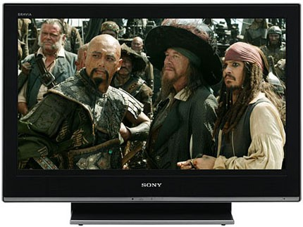 Sony Bravia KLV-40V300A (40-inch LCD Display Panel) - Front