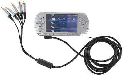 Sony PlayStation Portable PSP-2000 (Slim version) - Video output to a TV requires a breakout cable (sold separately), and has a few important caveats.