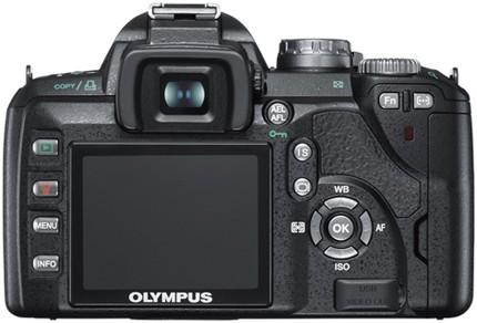 Olympus E-510 Digital SLR Camera - Review (Back)