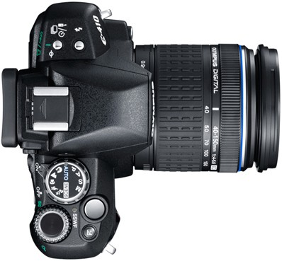 Olympus E-510 Digital SLR Camera - Review (Top)