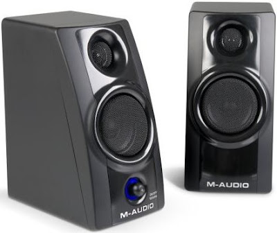 M-Audio Studiophile AV20 speakers - Review