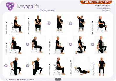 pb update chair yoga for seniors on fridays at 930am in
