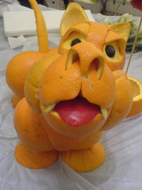 fruit animals 001 Amazing Animals from The Oranges