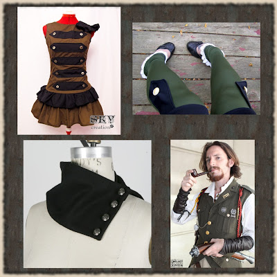 Military-inspired Steampunk (part II) (6/6)
