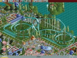 Coaster Blog: Star Point Landing - Rollercoaster Tycoon