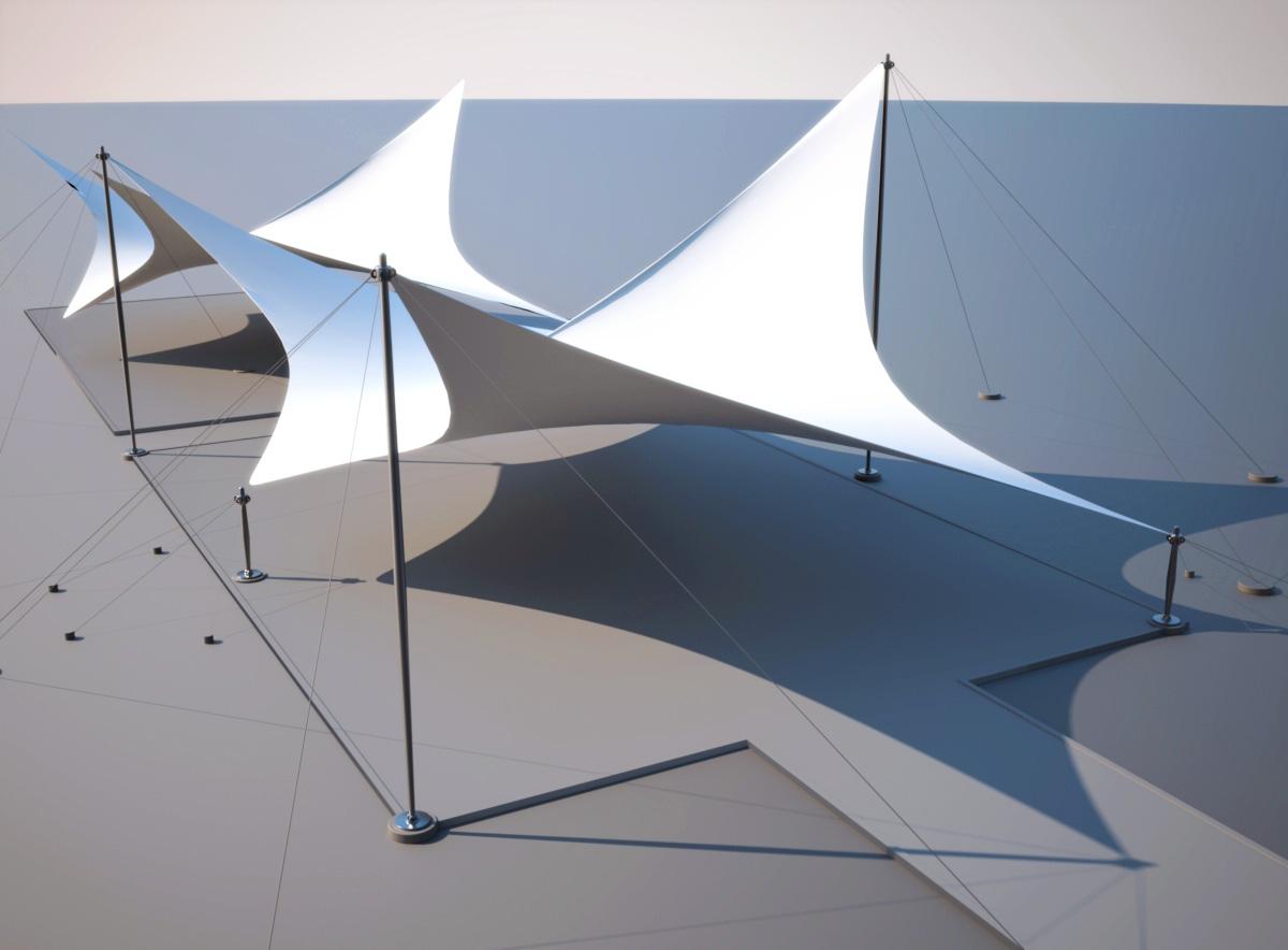 Pergola Design Claudio Gabriel Escobar 3d 2d Arquitectura Y Render Tenso