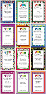 12 books in the quilt ladies collection