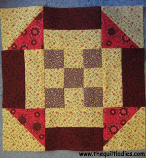 tutorial and pattern to make a quilt block